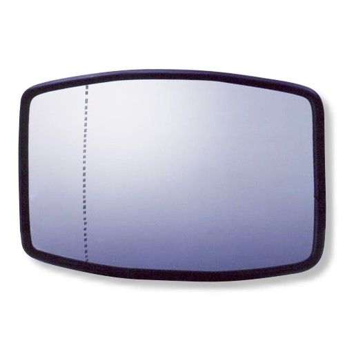 Double-curvature Wide-angle Mirror